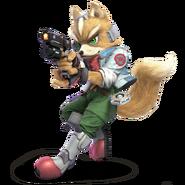 Super Smash Bros. Ultimate - Character Art - Fox
