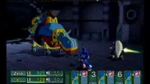 Megaman X Command Mission Chapter 1 Boss