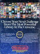 Nintendo Power Magazine V. 1 back cover