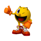 Pac man party 3D render