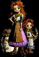 The Legend of Zelda Majora's Mask 3D - Character artwork 36