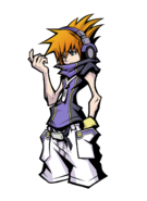 The World Ends with You Final Remix - Character Art - Neku 18