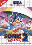 Sonic the Hedgehog 2 box art