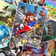 Super Mario Odyssey - Key Art 06