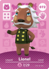 Animal Crossing Amiibo Card 072