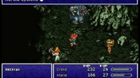 Chrono Trigger DS - Boss 5 Heckran
