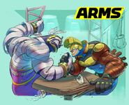 ARMS arm wrestling