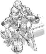FEF Camilla and Beruka Sketch