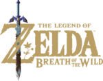 The Legend of Zelda Breath of the Wild - Logo 01