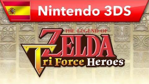 The Legend of Zelda Tri Force Heroes - Tráiler E3 2015 (Nintendo 3DS)