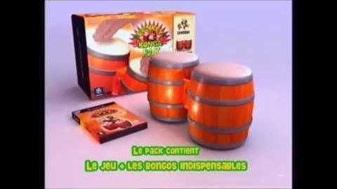 Donkey Konga - Nintendo GameCube - French - Commercial