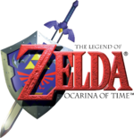 The Legend of Zelda Ocarina of Time logo