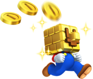 Gold Brick Block Mario