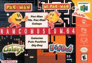 Namco Museum N64 Boxart