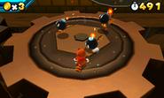 Super Mario 3d vs Bob-ombs