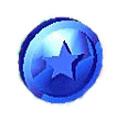 Blue coin sm 64