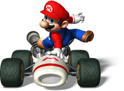 Mario Artwork 3 - Mario Kart DS