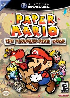 Paper Mario La puerta milenaria Portada