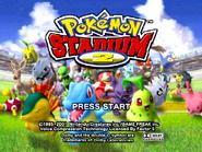 Pokemon Stadium 2 - Title Screen
