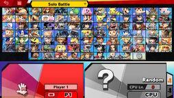 SSBU Character Select DLC 2