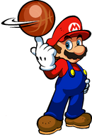 Mario Artwork - Mario Hoops 3-on-3