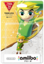 Amiibo - The Legend of Zelda 30th - Toon Link - The Wind Waker - Box