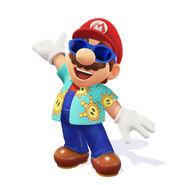 Super Mario Odyssey - Luigi's Balloon World - Mario 02