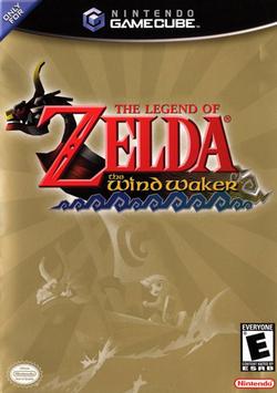The Legend of Zelda Wind Waker Portada