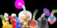 Hey! Pikmin - Character artwork 02