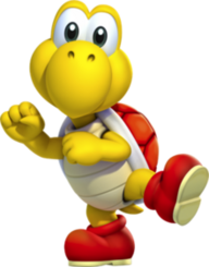 Koopa Troopa red