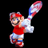 Mario Tennis Aces - Character Artwork - Mario 02