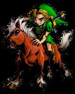The Legend of Zelda Majora's Mask 3D - Character artwork 08
