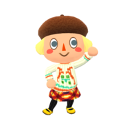 Animal Crossing - Pocket Camp - Character Artwork - Player - Girl 03