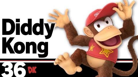 36- Diddy Kong – Super Smash Bros. Ultimate