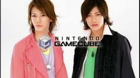 Akanishi Jin & Kamenashi Kazuya - Dance Dance Revolution Mario CM