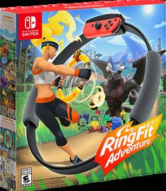Switch RingFitAdventure box