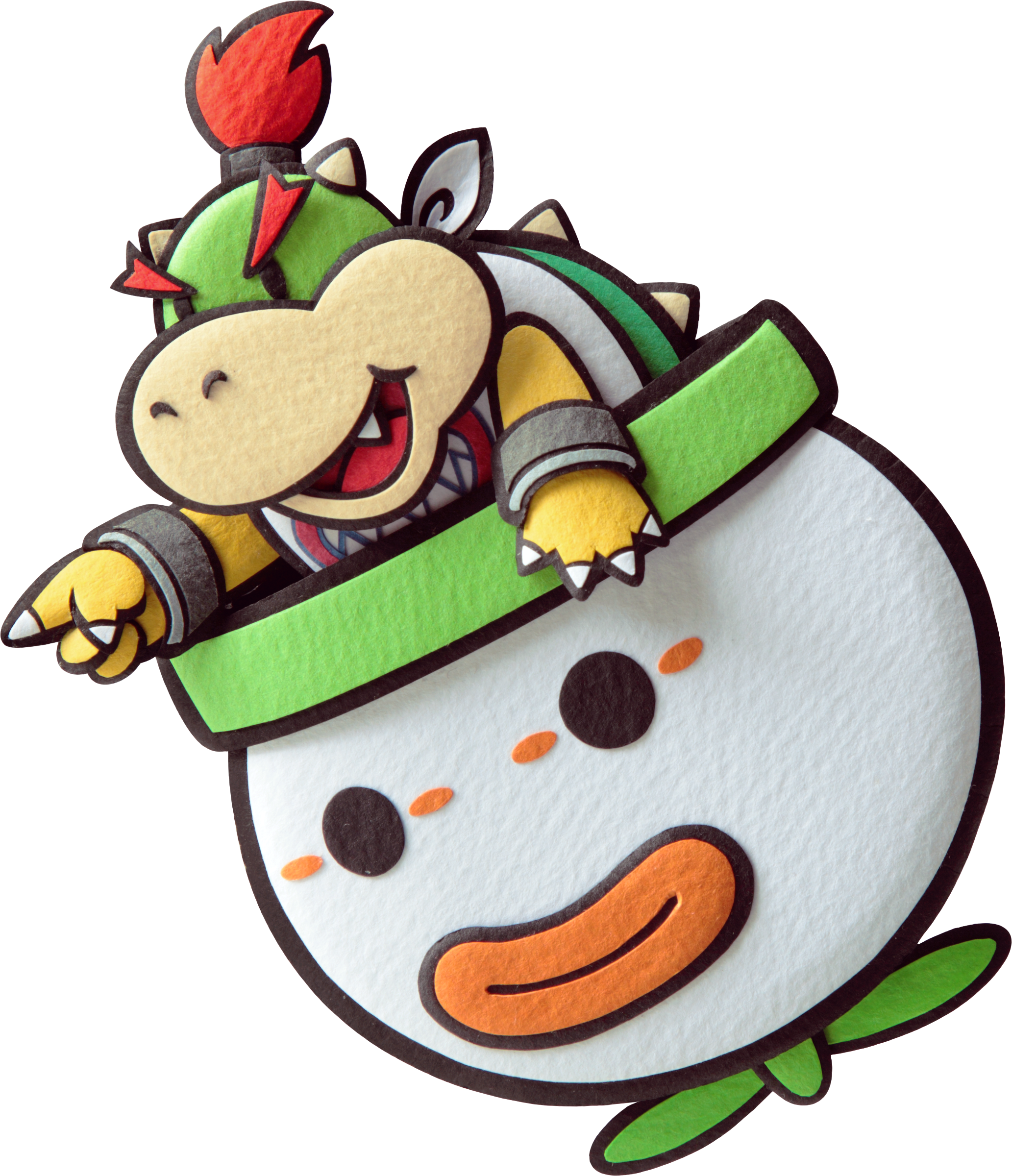 bowser jr paper mario sticker starpng