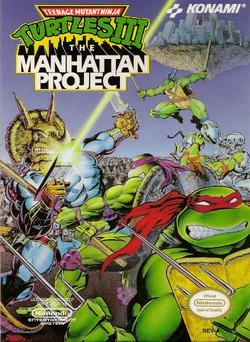 TMNT III - The Manhattan Project (NA)