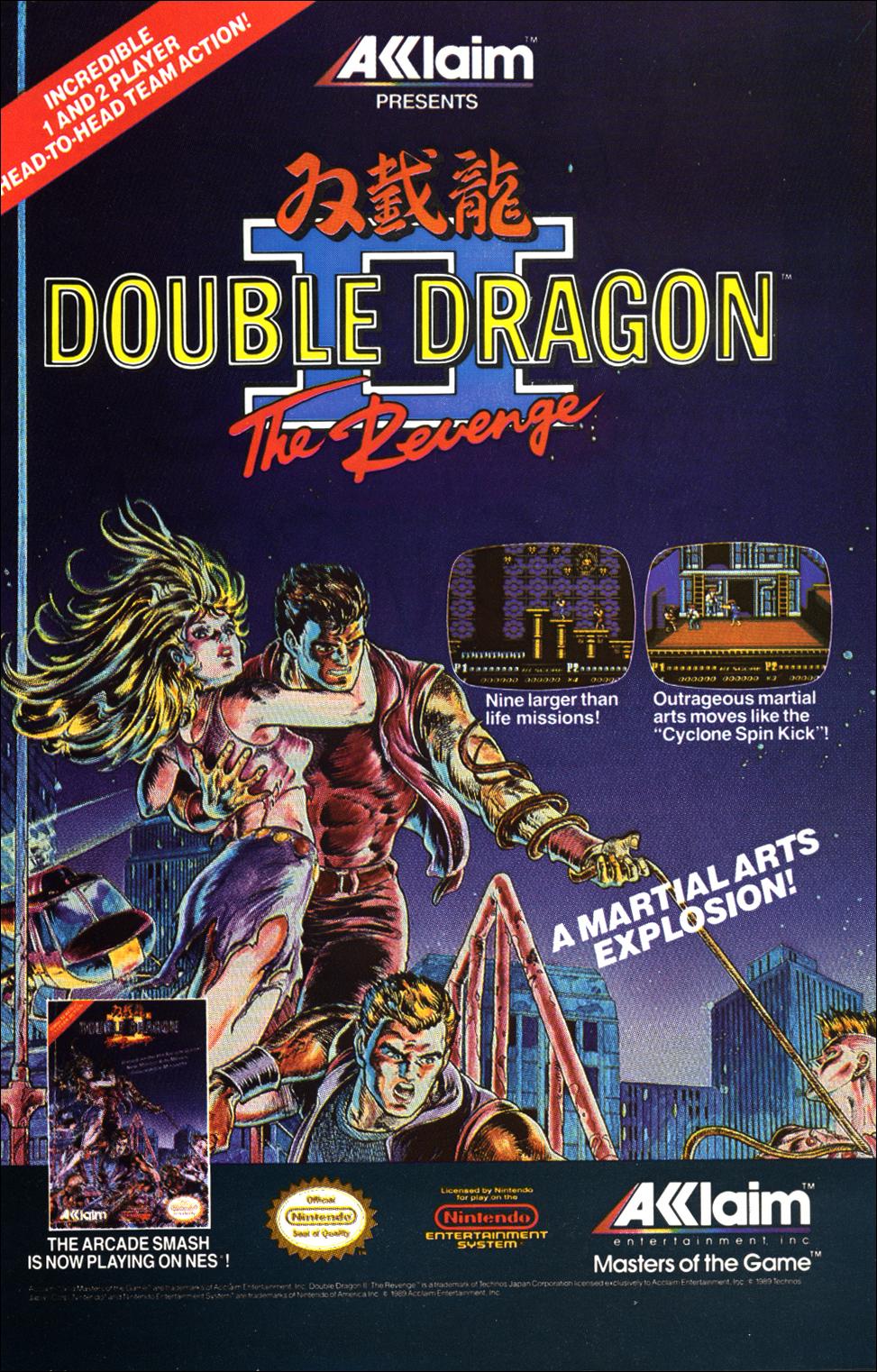 Double Dragon Ii The Revenge Nintendo Fandom