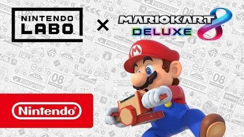 Mario Kart 8 Deluxe – ¡Ahora compatible con Nintendo Labo!