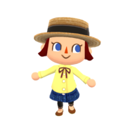 Animal Crossing - Pocket Camp - Character Artwork - Player - Girl 01