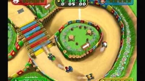 """Mario Party 7 - Kart Wheeled (0'26""""28)"""