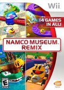 Namco Museum Remix Boxart