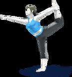 SSB4 - Wii Fit Trainer Artwork