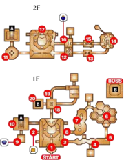 Dodongo's Cavern Map