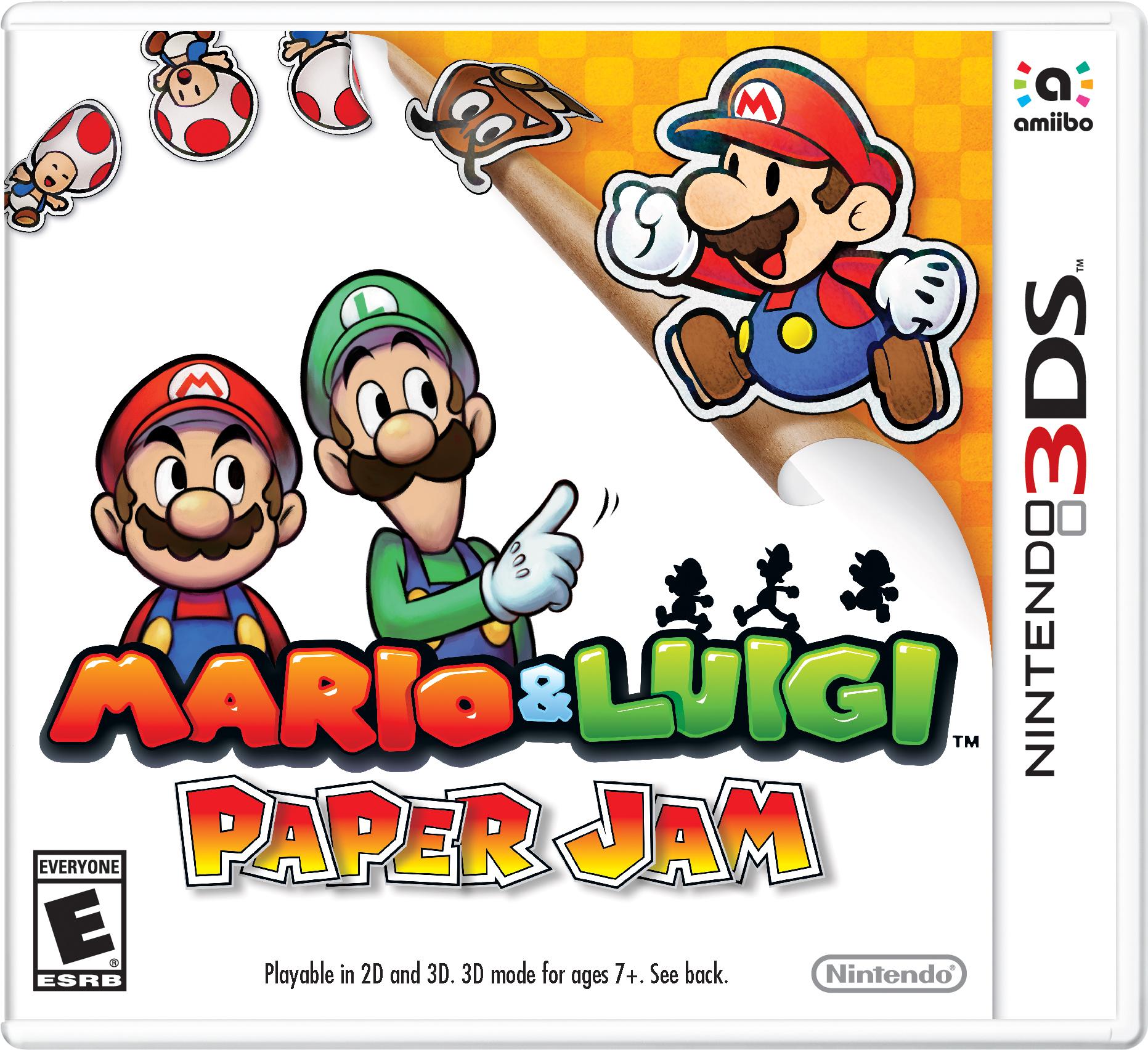 Mario Luigi Paper Jam Nintendo Fandom