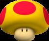 Mega Mushroom Artwork - Mario Kart Wii