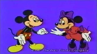 1987 ハドソンソフトミッキーマウス 不思議の国の大冒険CM