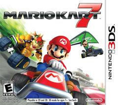 Mario Kart 7 Portada