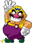Wario Artwork - Wario Land Shake It!